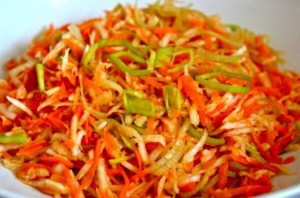Салат из моркови с сельдереем