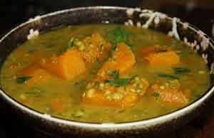 Чечевично-тыквенный соус