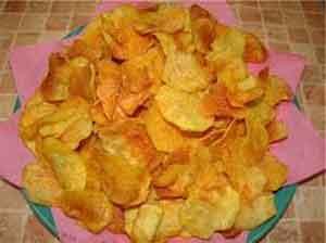 Картофельные чипсы рецепт для духовки