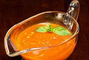 Легкий соус из базилика