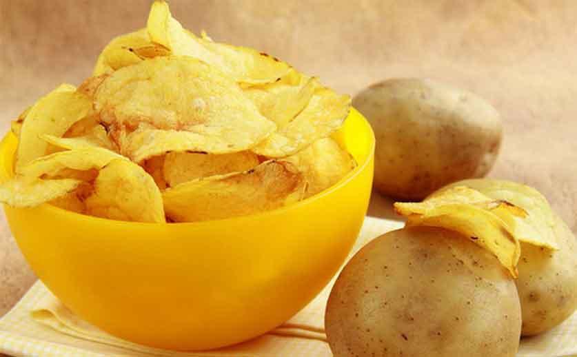 Как сделать картофельные чипсы в микроволновке