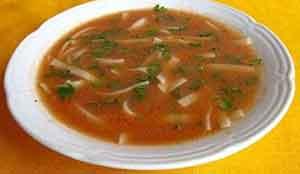 Рецепт капустного супа с томатной пастой