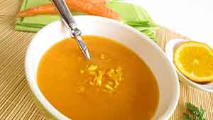 Рецепт морковного супа с апельсиновым соком