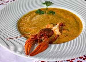 Рецепт рыбного ракового супа