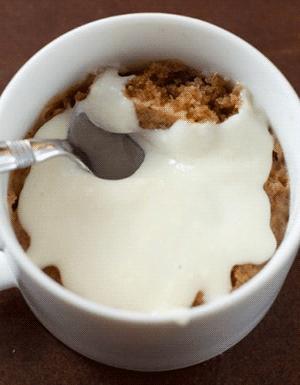 Рецепт яблочного кекса с корицей
