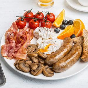Рецепт полного английского завтрака